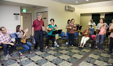 Photo: Tadah! Welcome Pastor Peter! Surprise!