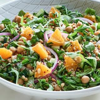 Quinoa Salad with Citrus Dressing.