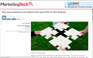 Marketing Tech News - New personalisation tool delivers four times ROI for Ellis Brigham