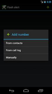 flash alert screenshot
