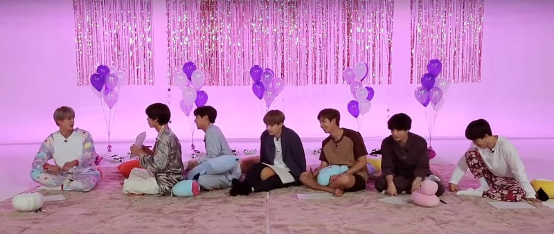 BTS playing telepathy in RUN BTS ep 97