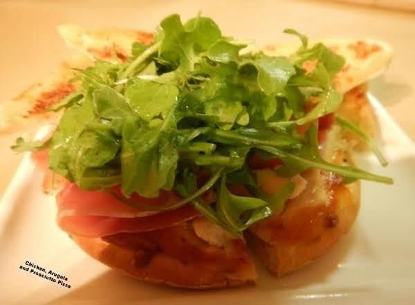 Chicken, Arugula, And Prosciutto Pizza Recipe