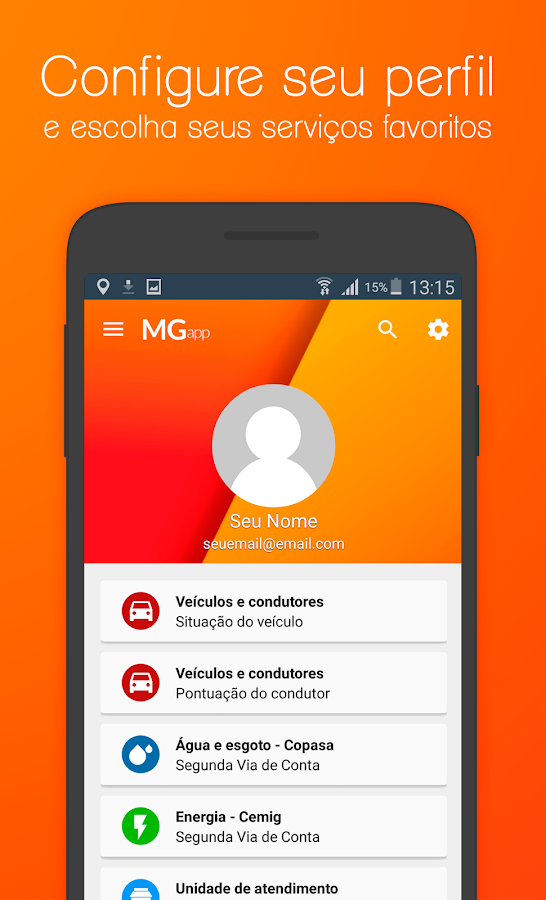 MG App- screenshot