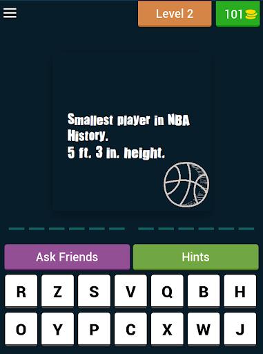 Basketball - NBA Trivia Quiz 3.2.3z screenshots 5