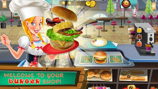 Fast Food Chef Truck : Burger Maker Game 1.0 screenshots 1