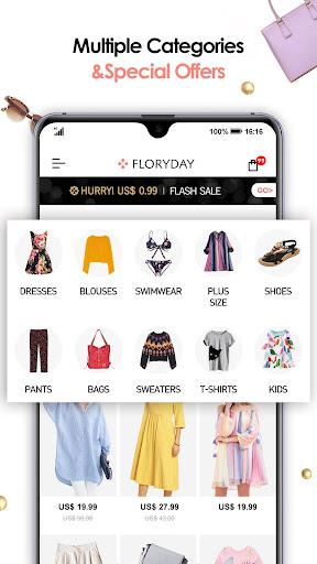 Floryday: Women Fashion Store 4.4.3 screenshots 1