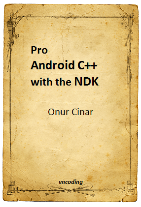 Pro Android Cpp with the NDK