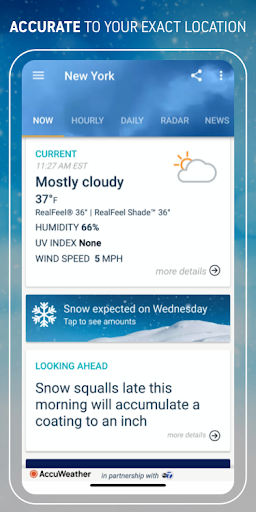 AccuWeather: Weather forecast news & live radar screenshot 2