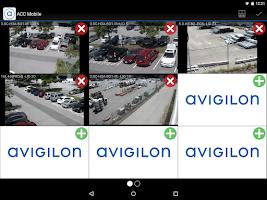Screenshot of Avigilon Control Center Mobile