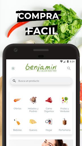 benjamin organic market screenshot 1