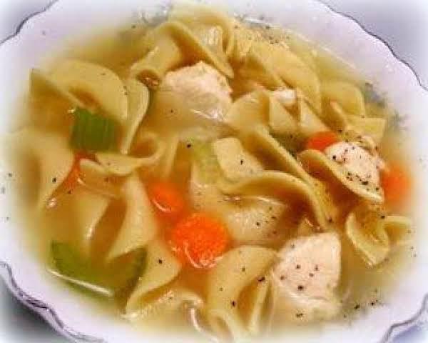 ~ Fix & Forget Chicken Noodle Soup ~ ( Crock Pot ) Recipe