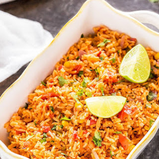 Vegetarian Mexican Rice.
