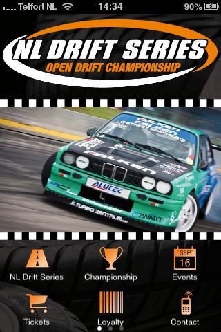 Скриншот NL Drift Series