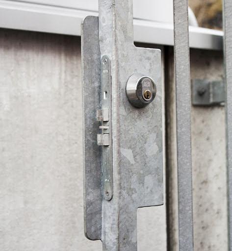 Förstärka Assa lås med låshus från Montano