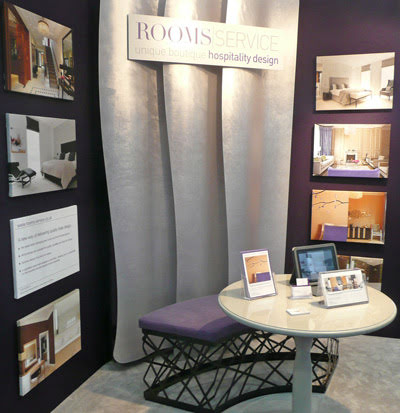 Independent Hotel 12' show stand