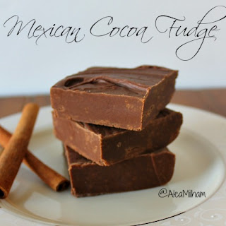 Alea's Mexican Cocoa Fudge