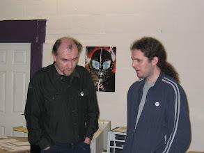 Photo: Simon N Goodwin and Shaun Bebbington (from Retro Gamer)
