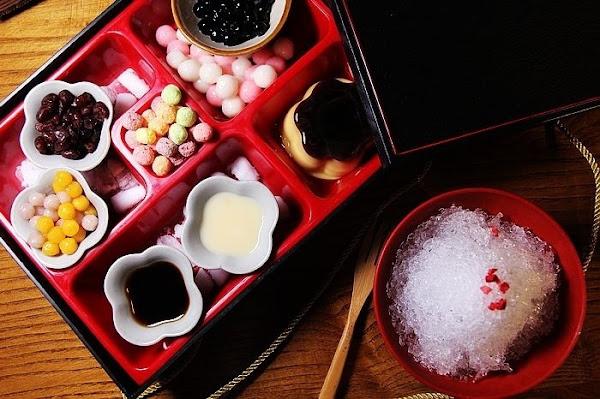山禾堂博多拉麵 台南美食 日式甜點好吸睛!夏天就是要來一碗日式刨冰,想吃什麼自己加!!