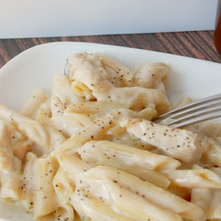 Easy Chicken Alfredo.