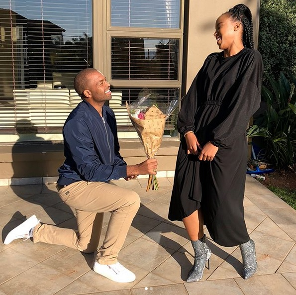 Sbahle Mpisane and Itumeleng Khune