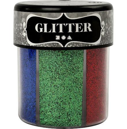 Glittermix bas 13g 6färger