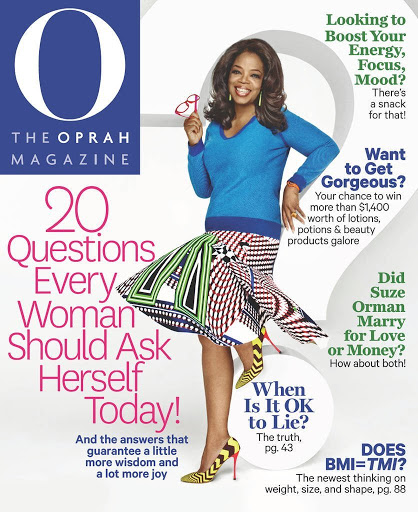 O The Oprah Magazine Just $3.9...