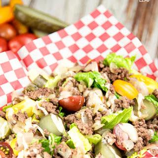 Hamburger Salad