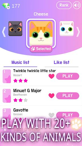 Magic Cat Piano Tiles - Pet Pianist Tap Animal screenshot 6