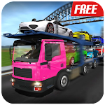 Car Transport Trailer : Vehicle Delivery Simulator Icon