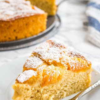 Easy Apricot Cake.