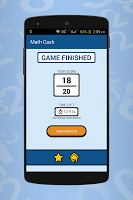 screenshot of Math Cash - Solve and Earn Rewards