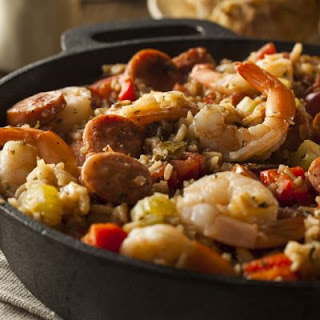 Classic Shrimp and Sausage Jambalaya