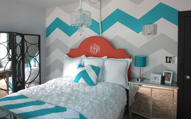 Paint Colorful Horizontal Stripes on the Wall