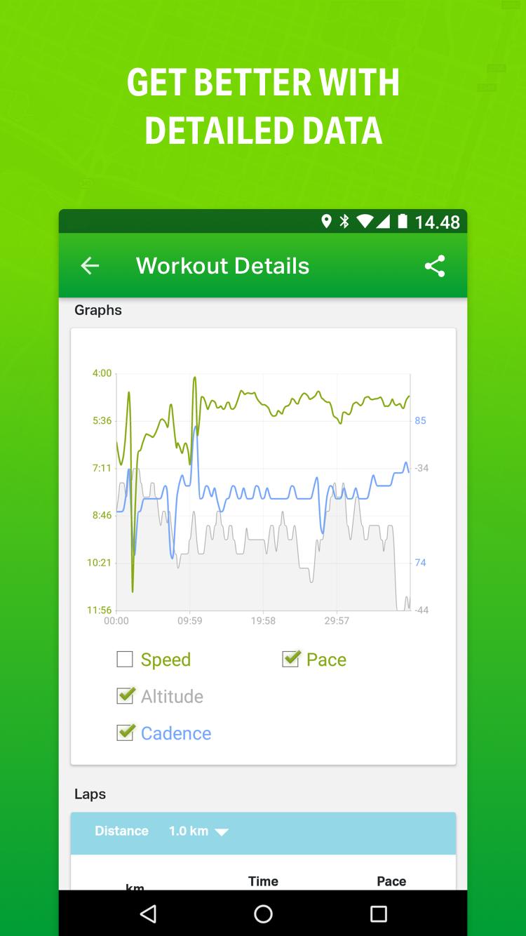 Endomondo - Running & Walking Screenshot 2