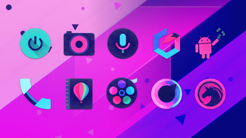 Unicorn Dark – Icon Pack v1.11 [Unlocked]