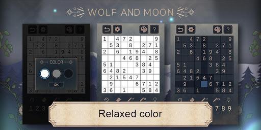 Wolf And Moon : Sudoku apkdebit screenshots 3