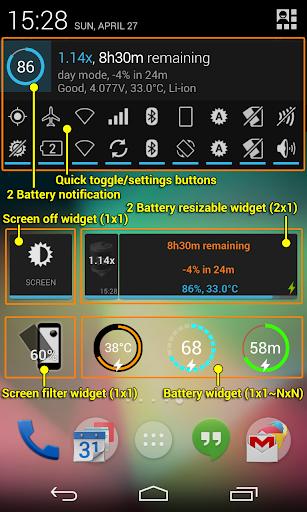 2 Battery - Battery Saver screenshot 2