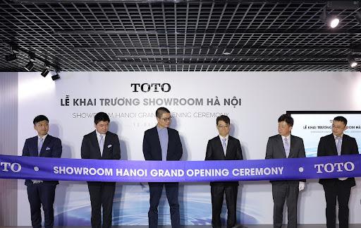 TOTO có nhiều hệ thống showroom tại Việt Nam