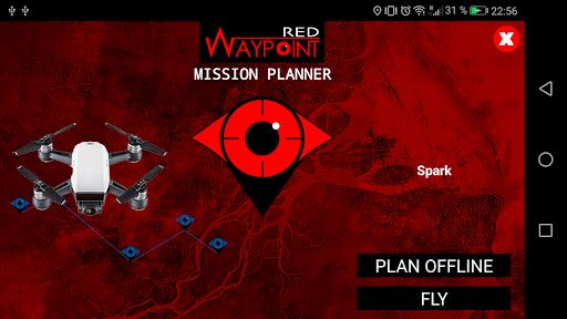 Red Waypoint para Drones DJI (Spark compatible!) screenshot 1
