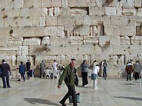 Photo: For many Jews (and others also), this is a once-in-a-lifetime experience to visit this holy place.