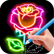 App Draw Glow Flower APK for Windows Phone