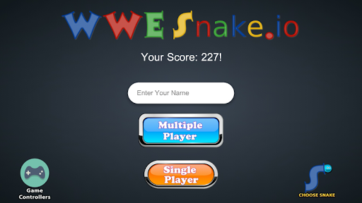 Snake WWE Screenshot