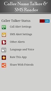 Caller Name Talker/ Announcer screenshot