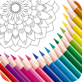 Free Coloring Book for Adult - Mandala and Pixel