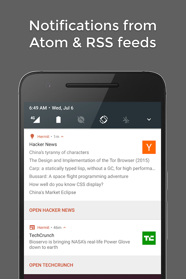 Hermit • Lite Apps Browser- screenshot