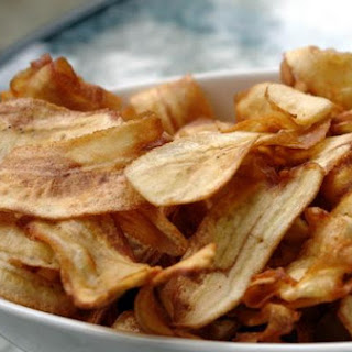 Salt and Chilli Green Banana Crisps