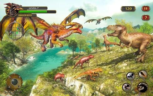 Dragon Simulator Attack 3D Game 2.4 Mod + Data (APK) Full 1