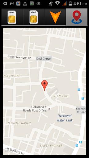 Sim Location Details Finder