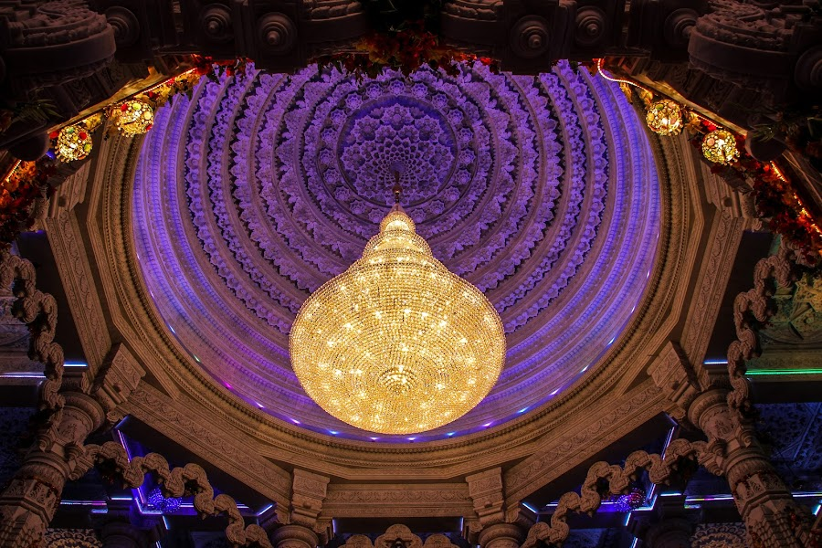 Dome at Prem Mandir, Vrindavan. by Amit Aggarwal - Buildings & Architecture Places of Worship
