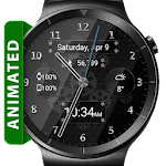 Black Glass HD Watch Face Icon